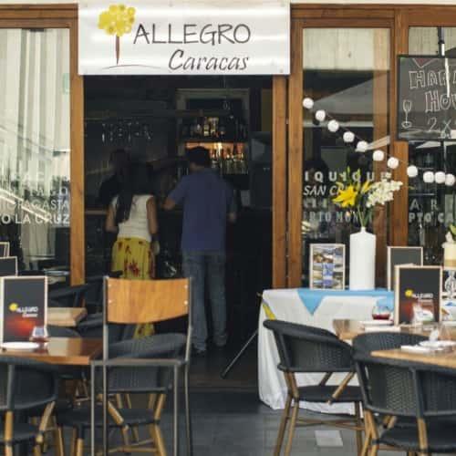 Allegro Caracas  en Bogotá 1