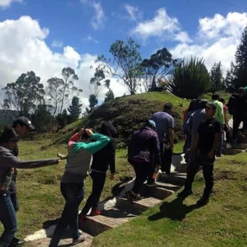 Trepando Escalada en Bogotá 14