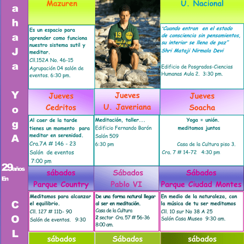 Fundación Sahaja Yoga Colombia en Bogotá 1