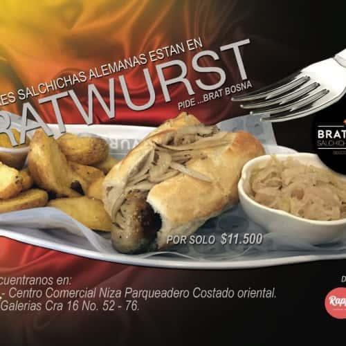 Bratwurst Salchichas Alemanas en Bogotá 8
