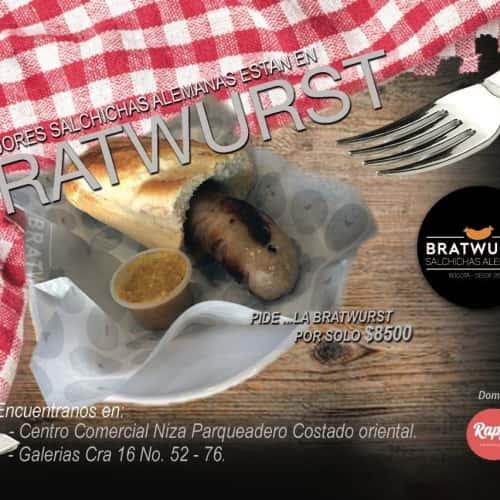 Bratwurst Salchichas Alemanas en Bogotá 7