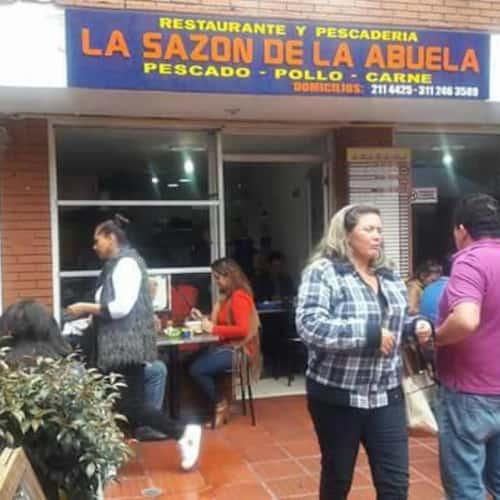 La Sazón de la Abuela   en Bogotá 10
