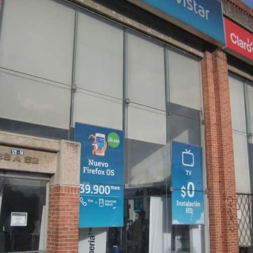 Movistar Avenida Suba en Bogotá 1