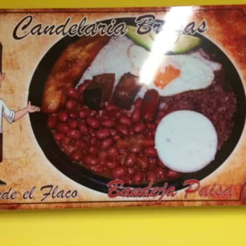 Candelarias Brasas Donde El Flaco en Bogotá 2
