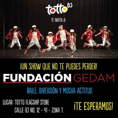 Fundación Artística Gedam en Bogotá 4