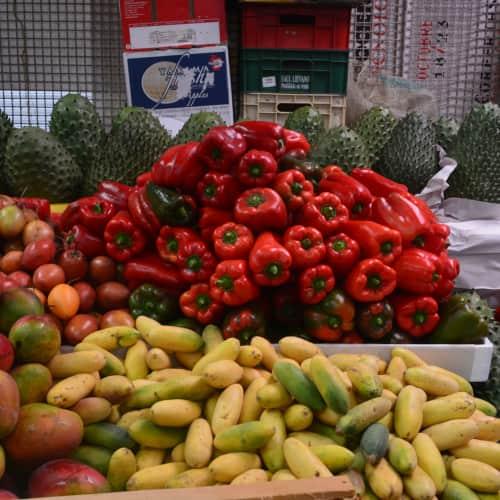 Plaza de Mercado Paloquemao en Bogotá 13
