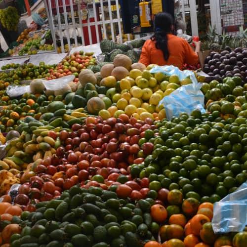Plaza de Mercado Paloquemao en Bogotá 12