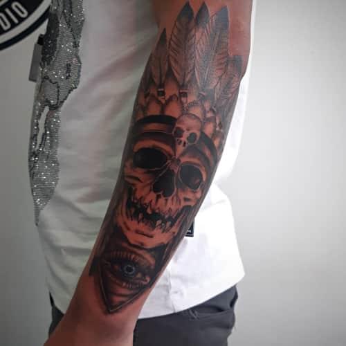 Dave Gerena Tattoo Studio en Bogotá 5