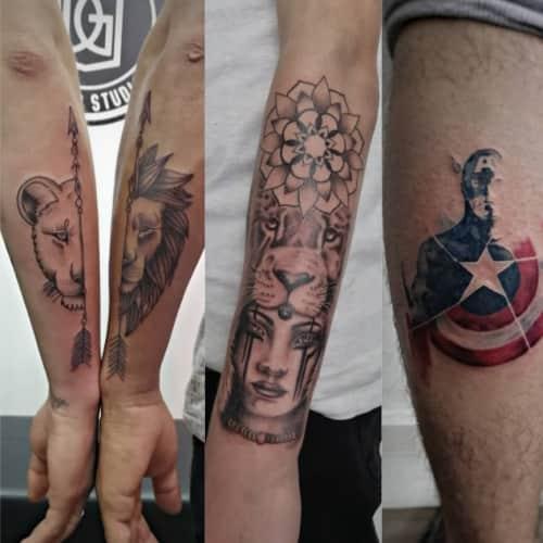 Dave Gerena Tattoo Studio en Bogotá 1