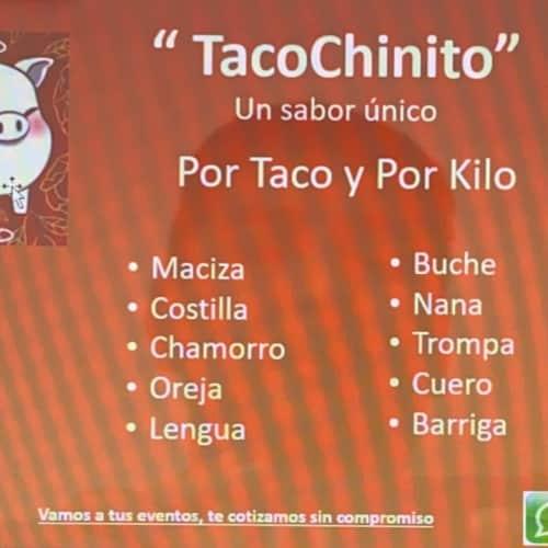Tacochinito en Bogotá 2
