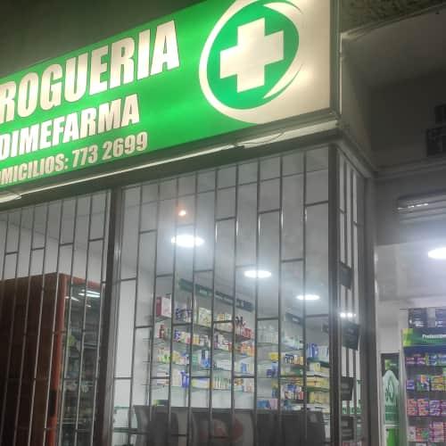 Droguería Dimefarma en Bogotá 1