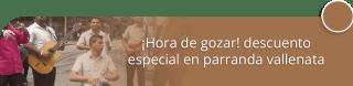 Agrupación Vallenata Jean Carlos Ortiz - ¡Hora de gozar! descuento especial en parranda vallenata