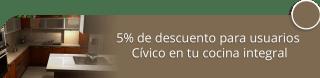 Coindiana - 5% de descuento para usuarios Cívico en tu cocina integral