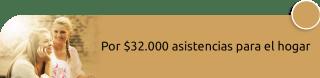 Su Asistencia - Por $32.000 asistencias para el hogar