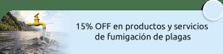 15% OFF en productos y servicios de fumigación de plagas - Delta Servicios SAS