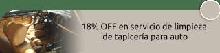 Limpio y Luminoso - 18% OFF en servicio de limpieza de tapicería para auto