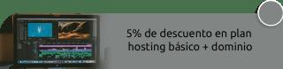 AsiLoQueria.com - 5% de descuento en plan hosting básico + dominio