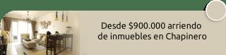 Marketing Inmobiliario - Desde $900.000 arriendo de inmuebles en Chapinero