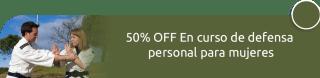 50% OFF En curso de defensa personal para mujeres - CP Salud Ocupacional