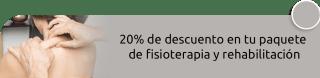 20% de descuento en tu paquete de fisioterapia y rehabilitación - Fisioterapia a Domicilio