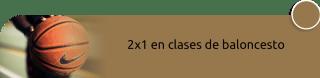 2x1 en clases de baloncesto - Club de Baloncesto Bogotá