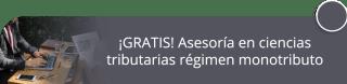 ¡GRATIS! Asesoría en ciencias tributarias régimen monotributo - Manuel Quintero - Impuestos