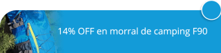 14% OFF en morral de camping F90 - Vittoria One Shop