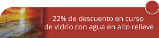 22% de descuento en curso de vidrio con agua en alto relieve - Polimericos Dial de Colombia