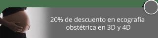 20% de descuento en ecografia obstétrica en 3D y 4D - Centro de Salud y Belleza Anamar