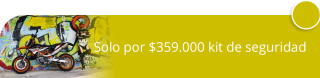 Solo por $359.000 kit de seguridad para moto - TecnySeg