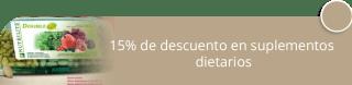 15% de descuento en suplementos dietarios - E-Network