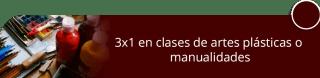 3x1 en clases de artes plásticas o manualidades - Arteliza Cursos Arte