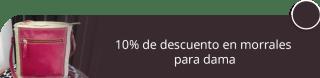 10% de descuento en morrales para dama - Accesorios en Cuero Roco