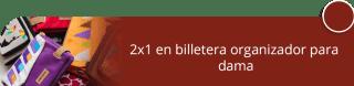 2x1 en billetera organizador para dama - Accesorios en Cuero Roco