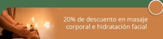 20% de descuento en masaje corporal e hidratación facial - Reveur Peluquería