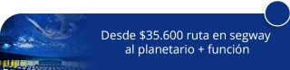 Desde $35.600 ruta en segway al planetario + función - Bogotá Segway Tour