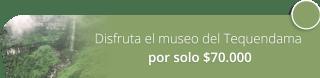 ¡Disfruta el museo del Tequendama por solo $70.000! - Tatú Tours Colombia
