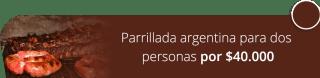 Parrillada argentina para dos personas por $40.000 - El Madero Restaurante Parrilla Bar