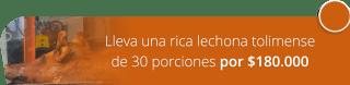 Lleva una rica lechona tolimense de 30 porciones por $180.000 - Banquetes Lechonería La Fonda Tolimense