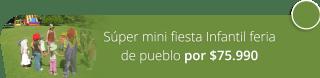 Súper mini fiesta Infantil feria de pueblo por $75.990 - Paccman Recreaciones