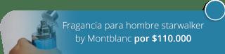 Fragancia para hombre starwalker by Montblanc por $110.000 - EHD Perfumería