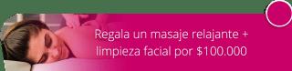 Regala un masaje relajante + limpieza facial por $100.000  - Angels Skin Estética