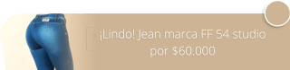 ¡Lindo! Jean marca FF 54 studio por $60.000 - Studio FF 54
