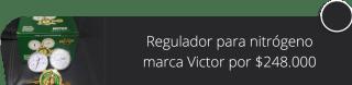 Regulador para nitrógeno marca Victor por $248.000 - Indegas Bogotá