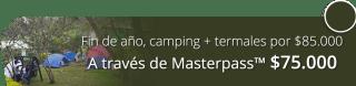 Fin de año en camping VIP con termales por $85.000 - Finca Hotel Spa Zhay