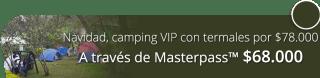 Navidad en camping VIP con termales por $78.000 - Finca Hotel Spa Zhay