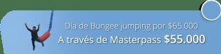 ¡Aprovecha! Día de Bungee jumping por solo $65.000 - Aventura Extrema