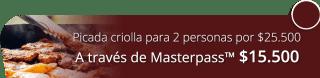 Picada criolla para 2 personas por $25.500 - Eventos Y Restaurantes 19 75