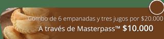 Combo de 6 empanadas y tres jugos por $20.000 - Marta La Lagarta