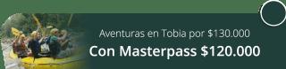 Vive la afición de tus aventuras en Tobia por $130.000 - Santaventura